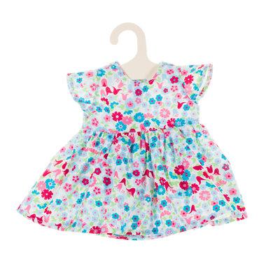 Olimi Doll dress Miniland 32cm meadow turquoise