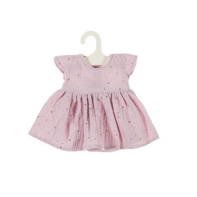 Olimi Doll dress Miniland 32cm Starry Sky powdery pink
