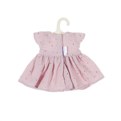 Olimi Puppenkleid Miniland 32cm Starry Sky powdery pink