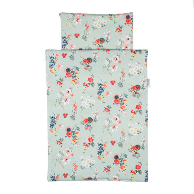 Olimi Bedding set Miniland Flower mint