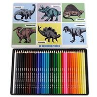 Rex London Colouring Pencils Set of 36 Prehistoric Land
