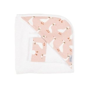 Olimi Bath-Set  Miniland 32/38cm Goose Pink