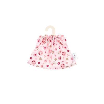 Olimi Puppenkleid Miniland 21cm Rosettes pink
