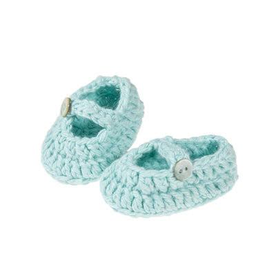 Olimi Doll shoes Miniland 38cm mint
