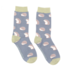 Miss Sparrow Socks Bamboo Cute Hedgehogs blue