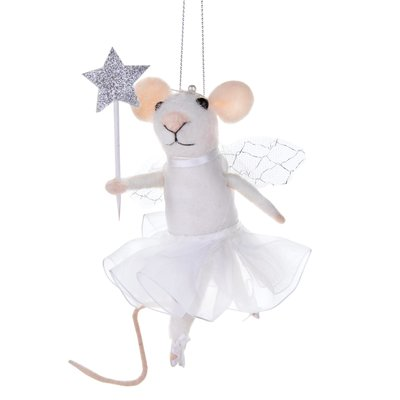 Sass & Belle Christmas Hanger Fairy Mouse with Star
