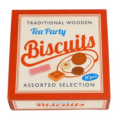 Rex London Tea Party Biscuits Traditional Wooden