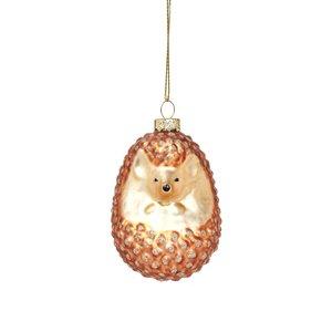 Sass & Belle Christmas Decoration Woodland Hedgehog