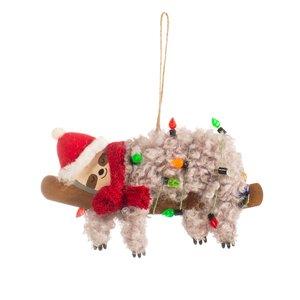 Sass & Belle Weihnachtshänger Festive Sloth