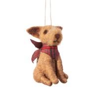 Sass & Belle Christmas hanger Dog with Bandana