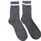 Joya Socks Men Wollmix Doublewarmth Uni dark grey