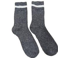Joya Socken Men Wollmix Doublewarmth Uni dark grey