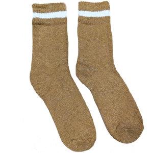 Joya Socken Men Wollmix Doublewarmth Uni mustard