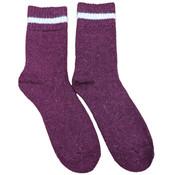 Joya Socks Men Wollmix Doublewarmth Uni bordeaux