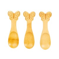 Sass & Belle Bamboo Spoons Butterfly Set of 3