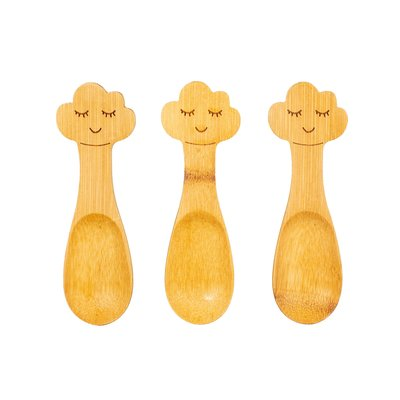 Sass & Belle Bamboo Spoons Cloud Set of 3