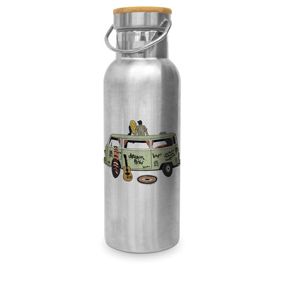 Paperproducts Design Stainless steel bottle Happy Freedom