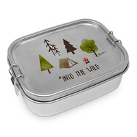 Paperproducts Design Lunch Box Steel Into the Wild