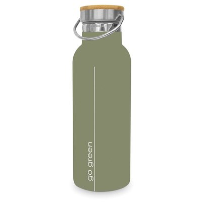 Paperproducts Design Stainless steel bottle Go Green