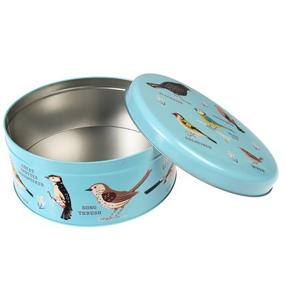 Rex London Cake tin round Garden Birds