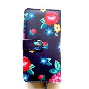 Blossify by Blossify Wallet Modern Flower navy