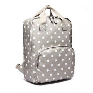 Blossify by Blossify Backpack  Dotty dark grey