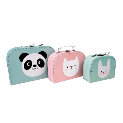 Rex London Cases Set of 3 Panda and Friends