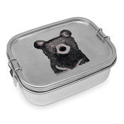 Paperproducts Design Lunch Box Steel Bear