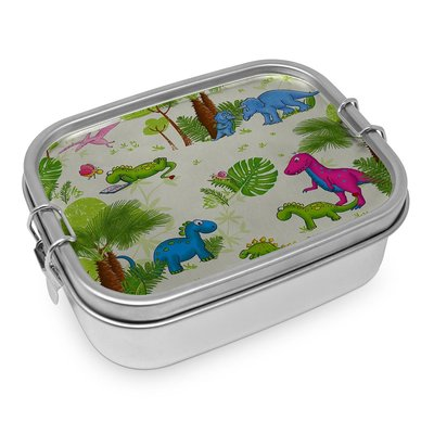 Paperproducts Design Lunch Box Steel Dino