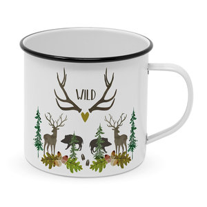 Paperproducts Design Emaille Becher Wild