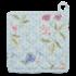 Clayre & Eef Topflappen Flowers blue