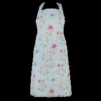 Clayre & Eef Kitchen apron Flowers blue