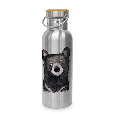 Paperproducts Design Edelstahl-Flasche Bear