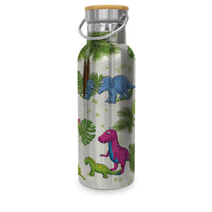 Paperproducts Design Edelstahl-Flasche Dinos