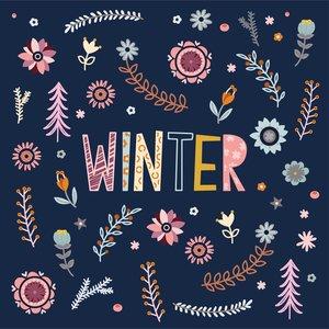 Paperproducts Design Paper Napkins  Winter Blossom