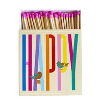 Overbeck and Friends Matches XL  Happy