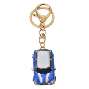 Clayre & Eef Schlüsselanhänger Car blue