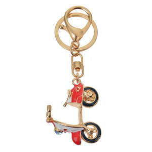 Clayre & Eef Key ring Scooter red