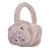 Clayre & Eef Ear warmers Cat beige