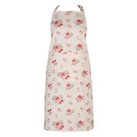 Clayre & Eef Kitchen apron Flowers creme