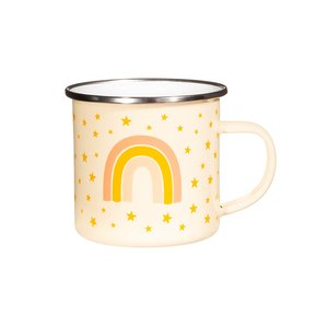 Sass & Belle Becher Emaille Earth Rainbow