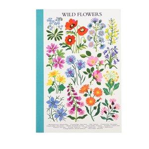 Rex London Notizbuch A5 Wild Flowers