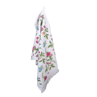 Clayre & Eef Guest towel Happy Flowers