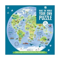 Talking Tables Puzzle World Map 1000