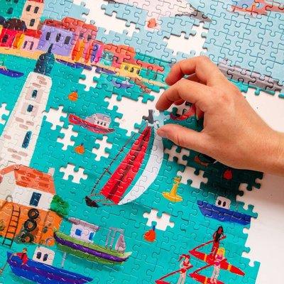 Talking Tables Puzzle Harbour 1000