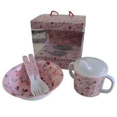 Powell Craft Melamine Tableware Pony Set 1
