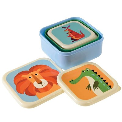 Rex London Snack-Boxen Colourful Creatures
