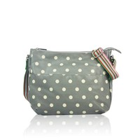 Huiskamergeluk Handbag Carry-All Bag Dots Grey