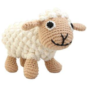 Sindibaba Kuscheltier-Schaf mit Rassel