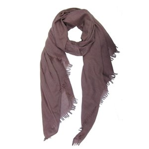 M&K Collection Schal Cotton/Wool dusty pink